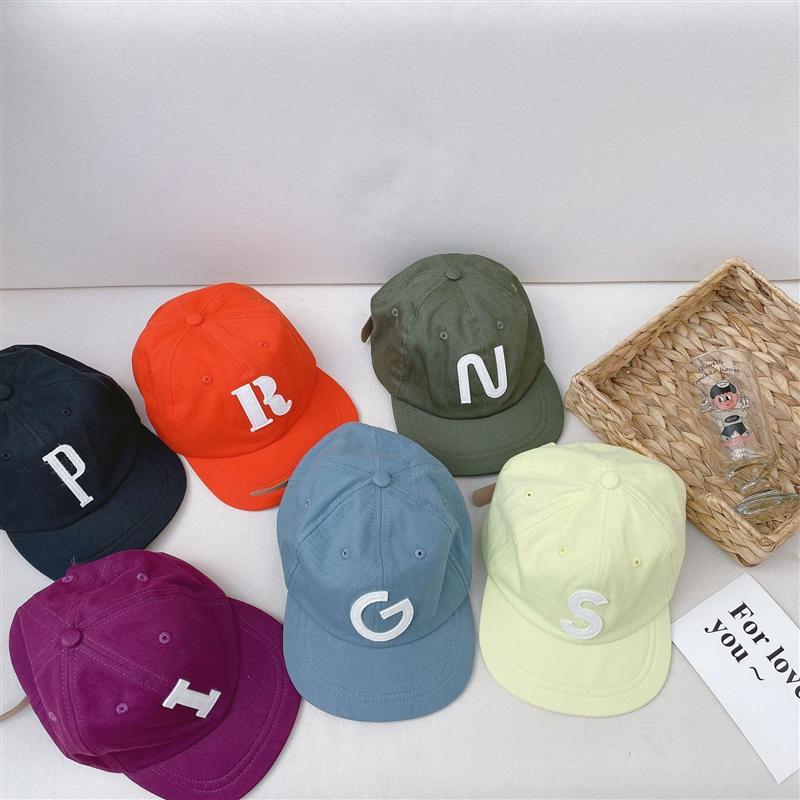 QaAJy ppm Liu Yuan usura con le lettere protezione dei bambini coreani di baseball del berretto da baseball cintura lettere a sei colori per bambini