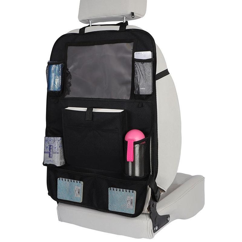 مقعد جديد للسيارات سيارة المنظم حامل أكسفورد القماش متعدد جيب التخزين حقيبة السفر شماعات المقعد الخلفي تنظيم صندوق اكسسوارات السيارات