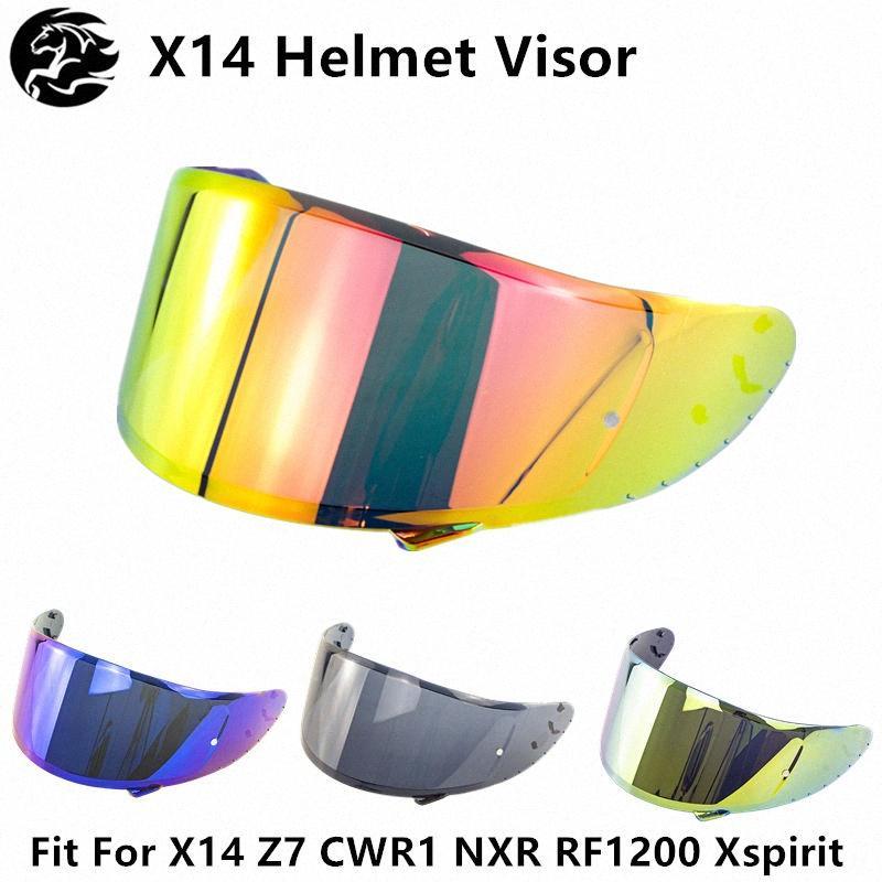 Kask Lens İçin Motosiklet Kaskları X14 Z7 CWR1 NXR RF1200 Xspirit Kask Visor Kalkanı Cam Motosiklet Aksesuarlar YT4g #
