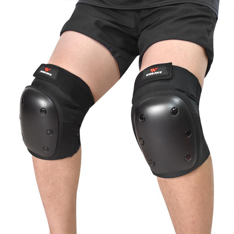 Adulte genou Pads sport Équipement de protection genou de protection pour Volley-ball Sports de plein air Cyclisme Ski Patins à roulettes Planche à roulettes