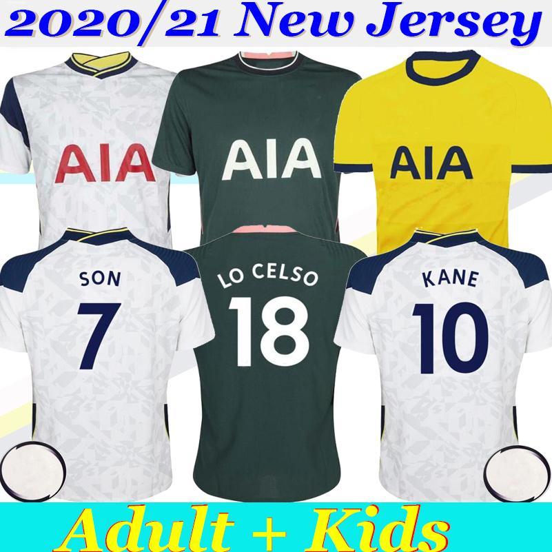 새로운 21분의 2,020 태국 KANE 집을 3 파란색 축구 유니폼 축구 유니폼 남자 아이 루카스 ERIKSEN DELE 아들 (20) (21) Tottenhames 박차