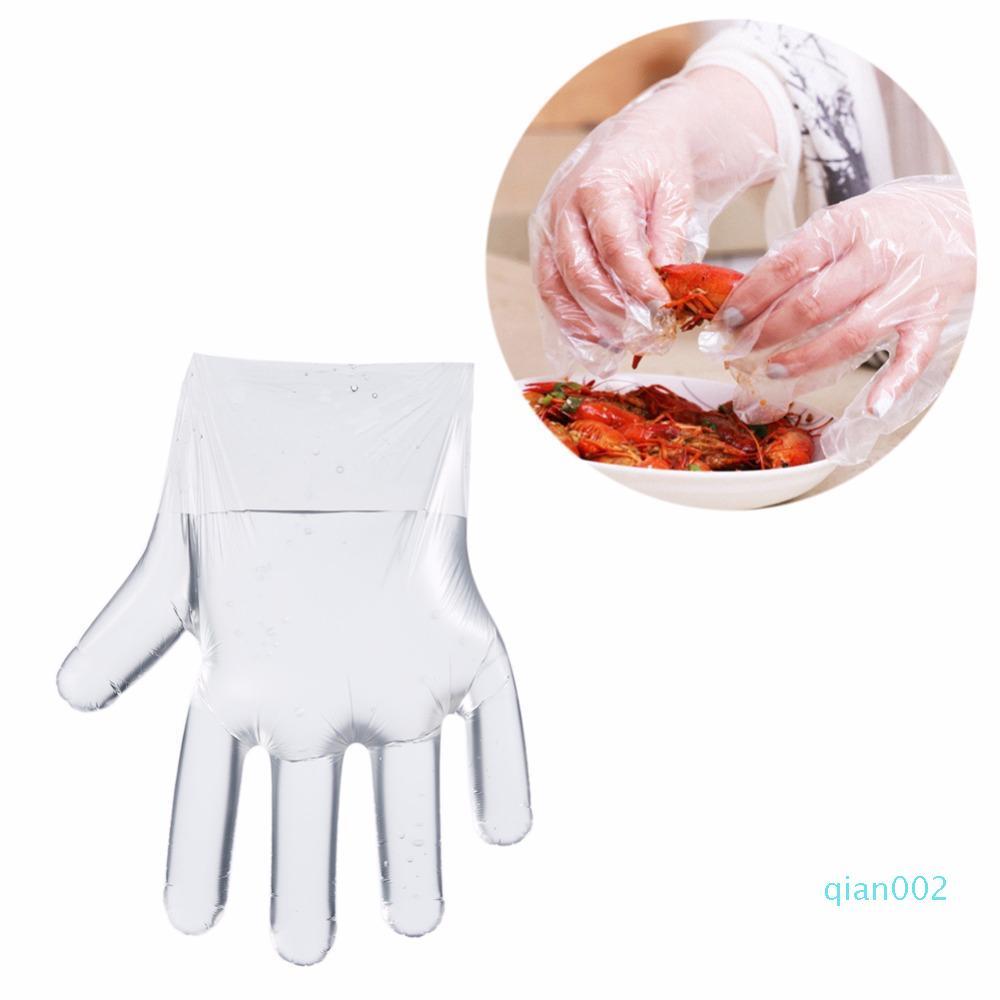 Hot Eco-friendly in plastica usa e getta Guanti all'ingrosso Ristorante Home Service Catering Igiene Per la casa della cucina di prodotti alimentari
