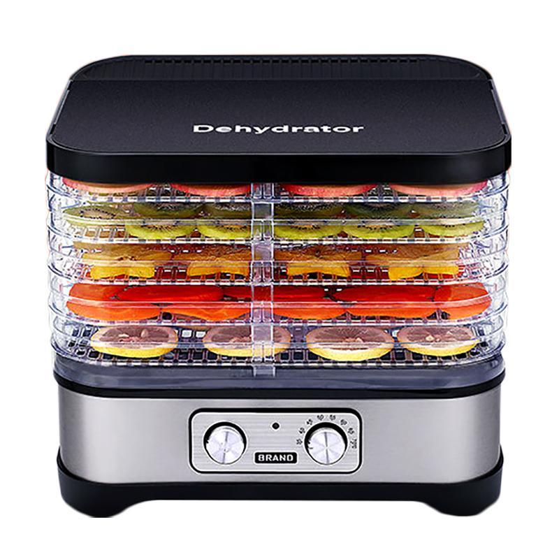 Дегидратор для домашнего Дегидраторы Процессор Осушитель 5 Layer Кухня Выпекать Овощной Фруктовый Oven