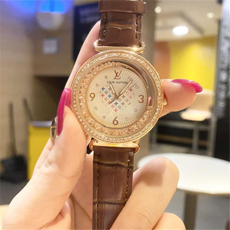 Aço Mulheres Rhinestone inoxidável relógio de quartzo das senhoras do negócio Assista Relógios 2020 japoneses de quartzo Movimento Relógios Moda Casual