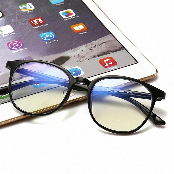 Los lectores de ordenador de la vendimia de los vidrios Anti Fatiga visual de la lente para Digital pantallas de protección UV400 Ligera Gafas de iones negativos uRbC #
