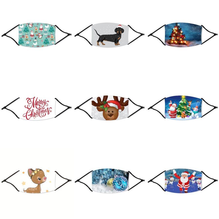 MarchWind Designer 2020 NEW Хлопок Рождество маска пыле Защитная маска Рождество с Щит глаза 2 Фильтры для ManFree Shippin # 329