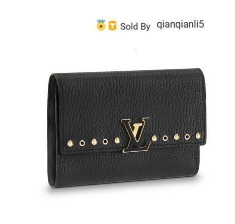 qianqianli5 IUEQ WALLET M62765 NEW WOMEN FASHION SHOWS EXOTIC LEATHER BAGS ICONIC BAGS CLUTCHES EVENING CHAIN WALLETS PURSE