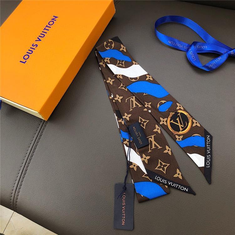 2020 Marca de alta calidad impreso bufandas femeninas del bolso cinta bufanda pañuelo femenino y la bufanda del envío libre del diseñador
