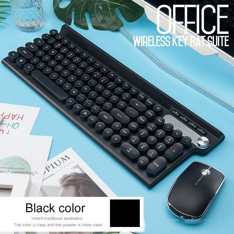 2.4G USB Wireless Keyboard mouse recarregável Teclado Mouse Para Macbook Asus Dell Laptop teclado Computer Mice Keyboard