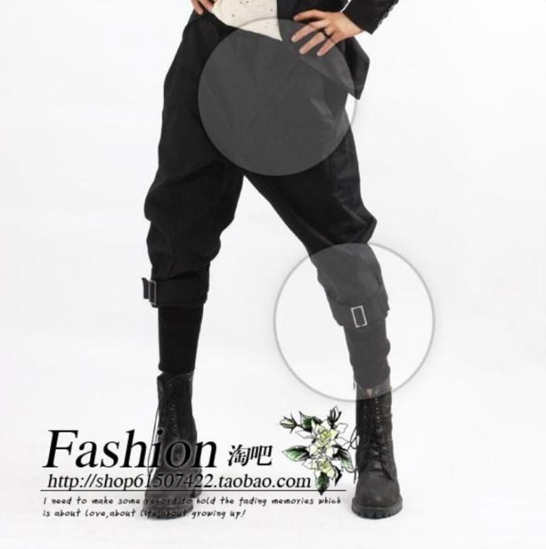 Lager Tamaño hombres libera el envío Ropa versión coreana de moda los pantalones de arranque funcionamiento de la etapa de la ropa / 27-39