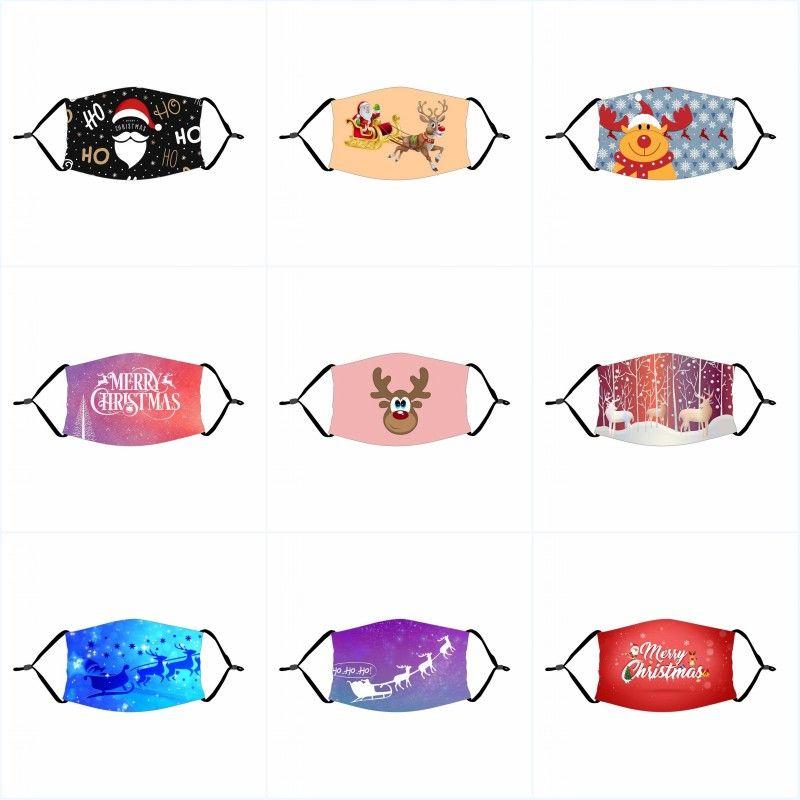 DHL Gemi Koruyucu Çocuk Yüz Maskesi Noel Nefes Resuable Ağız Kapak Çocuk İlkbahar Yaz Açık Yıkanabilir Parti Maskeleri
