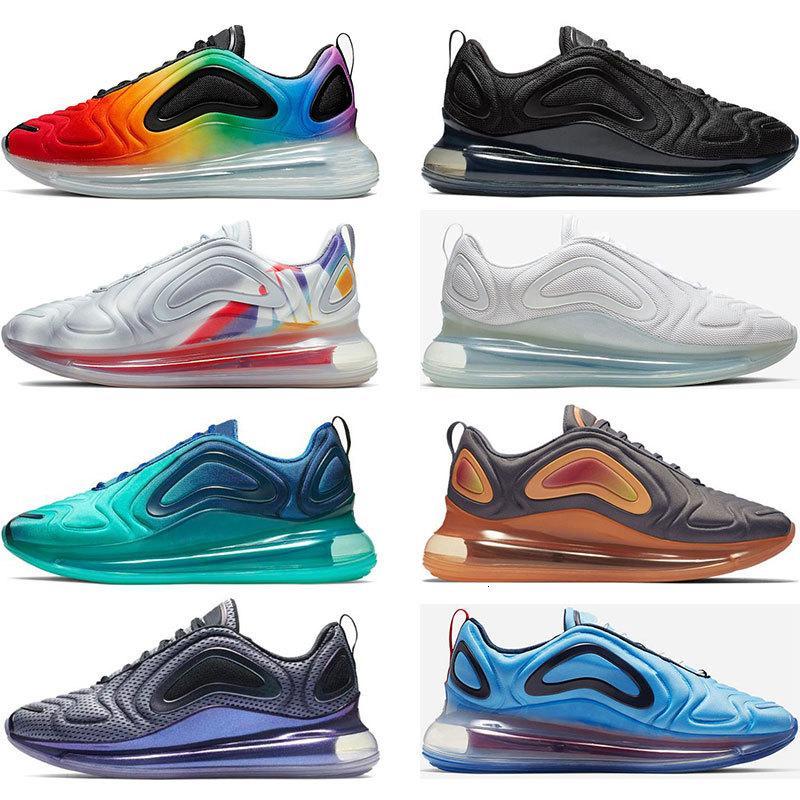 2020 Yeni Be Gerçek Pride Yakıt Turuncu YEŞİL KARBON üçlü siyah beyaz Volt erkek koşu ayakkabıları spor eğitmeni boyutu 36-45 sneaker womens