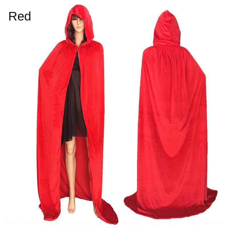 jpu0O Dia Santo cosplay traje do diabo capa de animação de morte roupas mostrar vampiro manto diabo bruxa