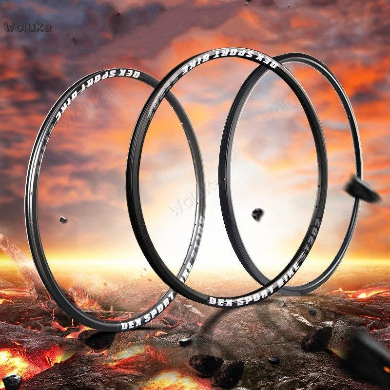 Mountain bike aluminum alloy bicycle rim 26 inch wheel hub front and rear rim 24 28 32 36 hole durable high strength CD50 Q02 1hwt#