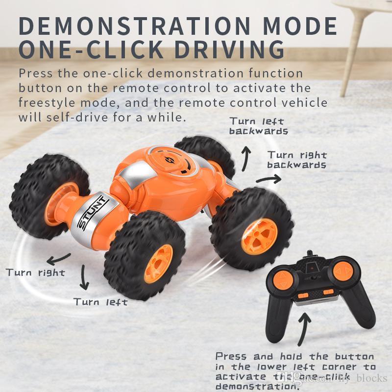 2.4G Steuerung 4WD Remote Klettern Drift Road Stunt Toys RC Twisted Kids Off Fahrzeugverformung Auto Jungen für Auto Buggy Toys 02 XSKIC