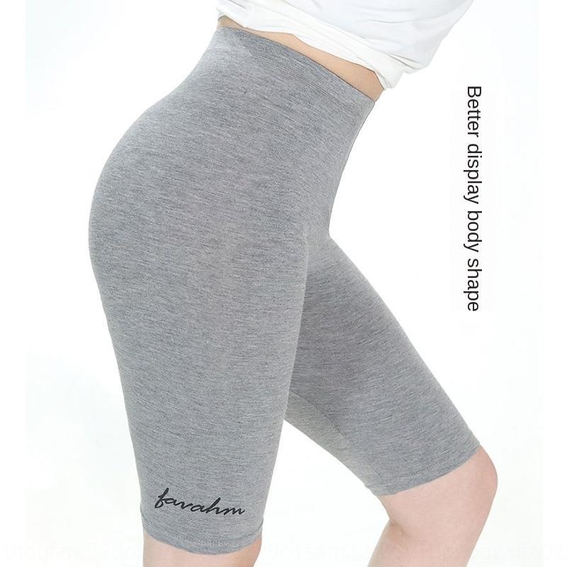 EJf0N Fabrik Ist gerade Hosen Hosen und Ober Sommer 2020 Hosenfrauen Barbie modalen hohe Taille Hüfte-Hebe 103 Hose