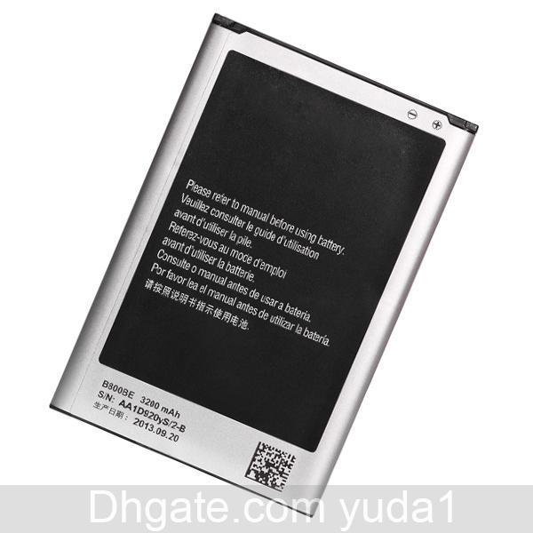 Cgjxsoriginal تصنيع المعدات الأصلية ملاحظة 3 B800be N9000 N9005 الهاتف المحمول بطارية 3200mAH شحن مجاني بالجملة ضمان سنة واحدة
