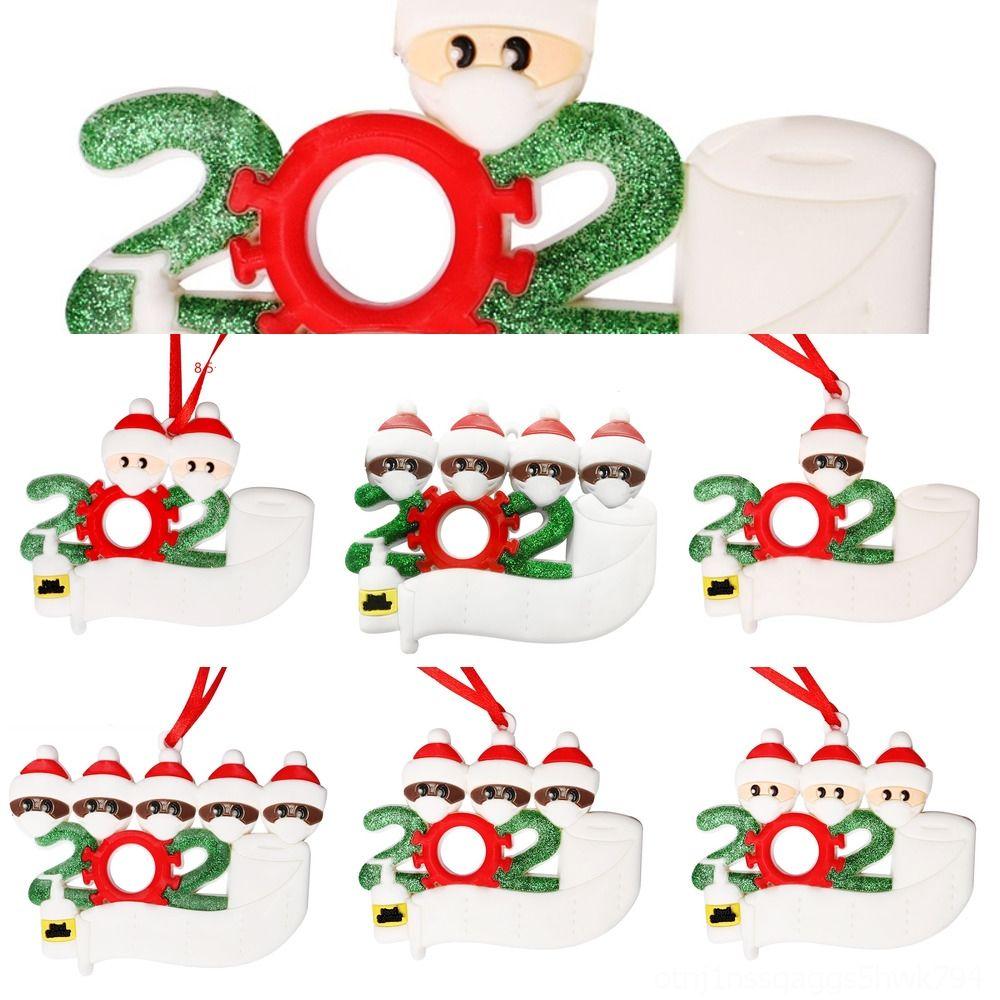 Guantes cc66m suave muñeca de la arcilla pendiente del árbol de Navidad de Santa Calcetines ángel pendiente suave arcilla Diseño Ornamento colgante FWE