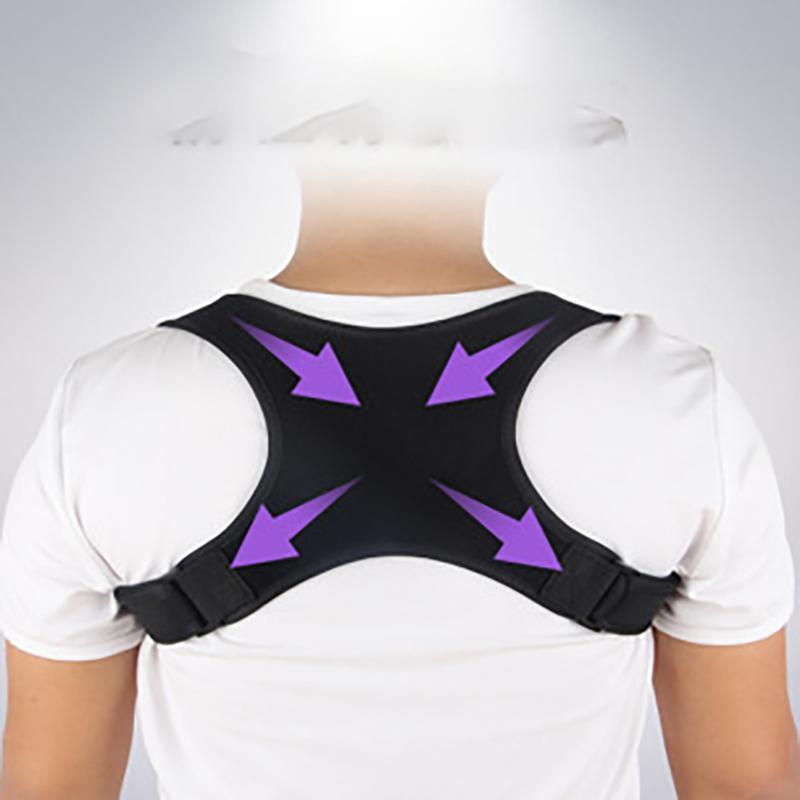 Neue Rückenkorrekturband X-Typ Kyphosis Korrekturgurt Kinder Erwachsene Atmungsaktive Clawicle Haltung Anpassung Orthese Körper Shapewe