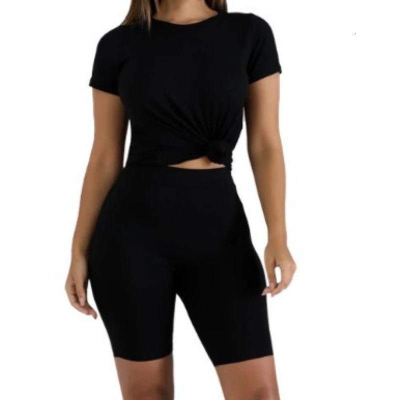 Echoine Sommeranzug Frauen Shorts Set Two Piece Set Sportwear Jogging Female Gym Lounge Abnutzung T-Shirt Shorts plus Größe 4XL
