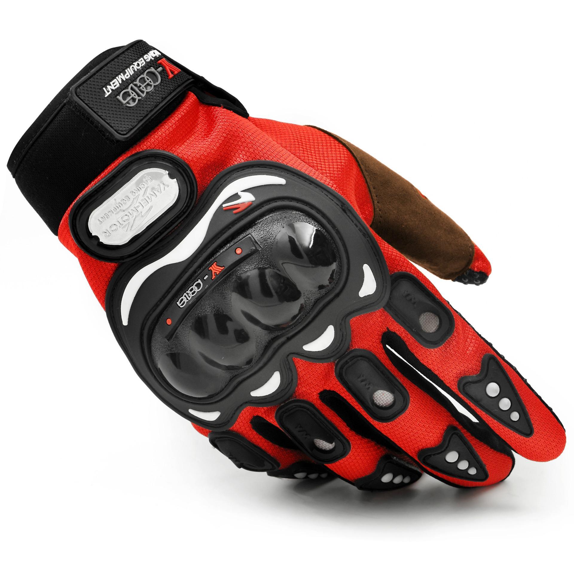 Motos luvas dedo cheio de esportes equitação cavaleiro moto motorcross Gants De Moto ciclismo luvas lavável guantes tamanho L XL