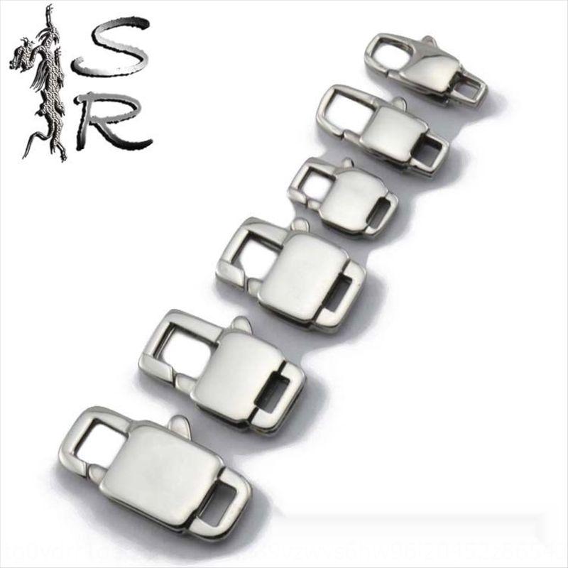 collana lobsterdiy quadrata in acciaio inossidabile aragosta 316stainless collegamento k3bss 316stainless Accessori accessori necklacelobsterdiy lobste piazza