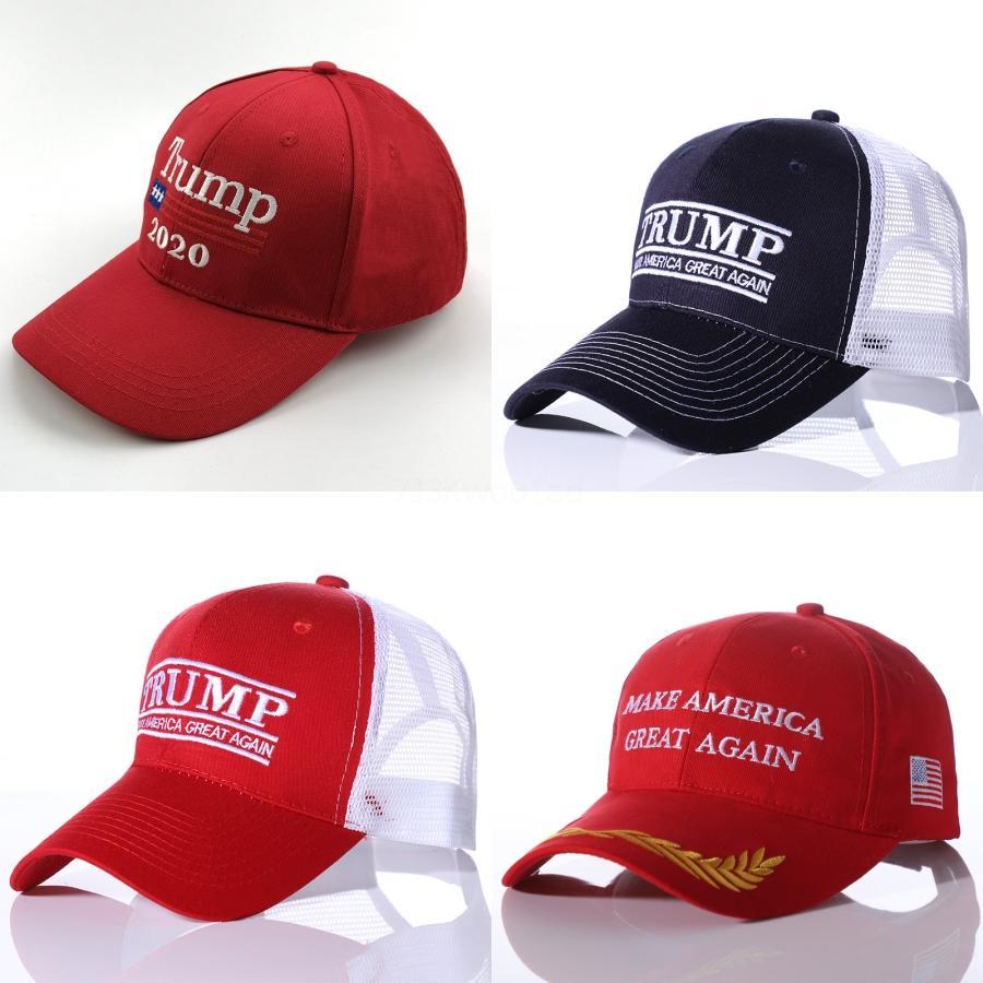 Abd Bayrağı Cap Pamuk Beyzbol Şapka Caps 45 Başkan Donald Trump Destek Beyzbol şapkası Snapback Unisex Ayarlanabilir Yenilikçi Şapkalar # 378