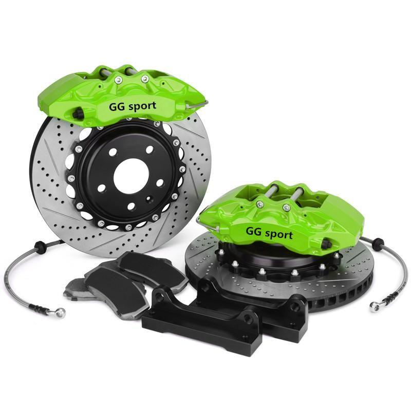 upgrade brake system green color 9040 6 big piston brake caliper 355*32mm brake disc for BMW E46