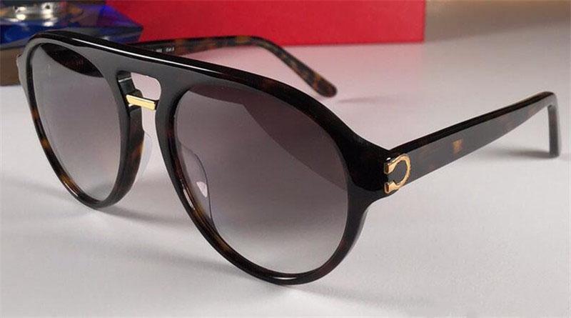 2020 جديد مصمم أزياء بيع النظارات الشمسية 0130 ميزات إطار الطيار مجلس المواد شعبية أسلوب بسيط حماية أعلى جودة UV400 النظارات