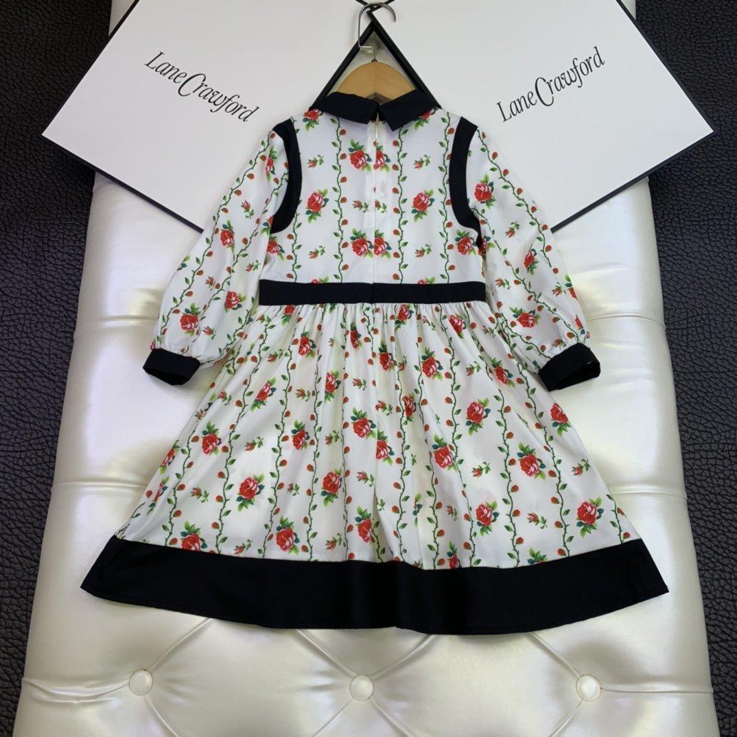 Kinder Kleider Kinder kleidet Mädchen hochwertiges freies Verschiffen-Mädchenkleider Parteikleid 6JTX