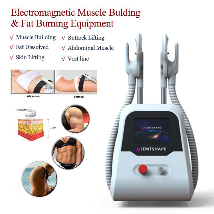 Nova Chegada Ems Muscle Stimulator Machine Ems Culpting Músculo Edifício Fat Remoção Máquinas EMS Emagrecimento Corporal De Contorno Máquina