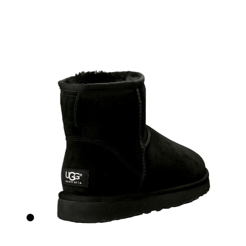 Top nieve de las mujeres botas de diseño ug genuino de la vaca de ante Australia cálidas botas de invierno mujer clásicos zapatos de mujer botas barato
