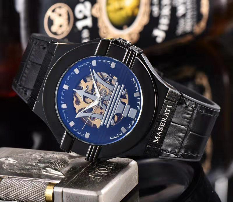 reloj del negocio informal de acero inoxidable reloj mecánico deportes ocasionales del reloj de la marca de lujo de los nuevos hombres de la moda