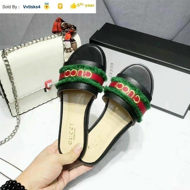 Women's classic black comfortable flat shoes slippers Casual Handmade Walking Tennis Sandals Slippers Mules Slides Thongs