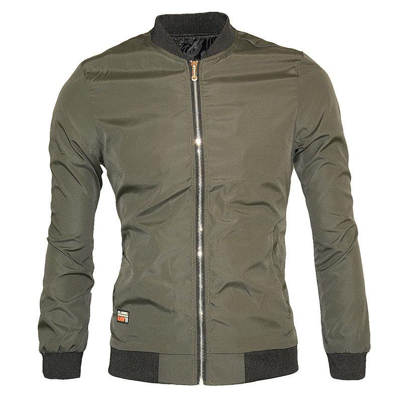 Neue Jacke Fliegerjacke der Männer Männer große lose Jacke