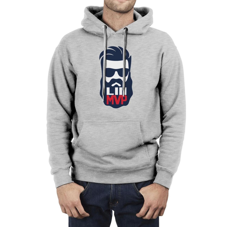 logotipo dos homens da forma MVP do Super Bowl Julian Edelman je11 je 11 Fleece Hoodies, cabeça fria camisola personalizada louco engraçado Hoodies LIII