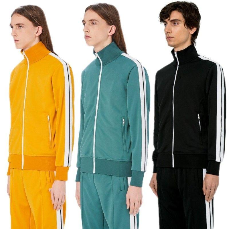 남성 패션 스포츠웨어 후드와 스웨터 가을 겨울 조깅 정장 남성 야외 운동복 세트 2 개 무료 배송