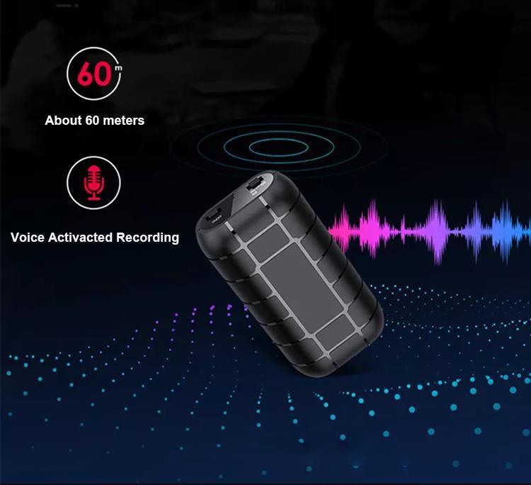 Gravador de Voz B800 Mini Digital longo tempo de trabalho HD Noise Reduction Dictaphone caneta Suporte Lanterna clipe Adsorb magnética