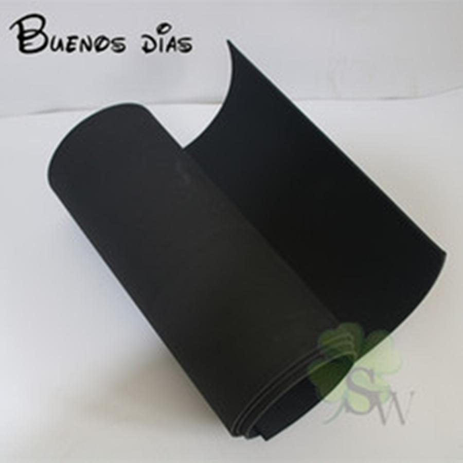 5 millimetri blackthickness Nessun foro Eva ambientale fogli di schiuma, schiuma Punch, la scuola i bambini a mano cosplay materiale 50 centimetri Dimensioni * 200cm