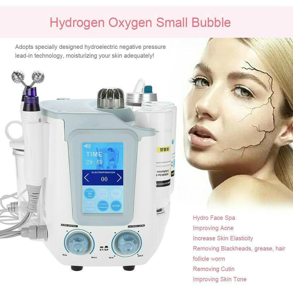 Taşınabilir AquaSure H2 hydrafacial makine H2O2 BIO cilt kaldırma derin galvanik yüz cihazı temizleyici (1 içinde 1 6 veya 3 tercih edilebilir)