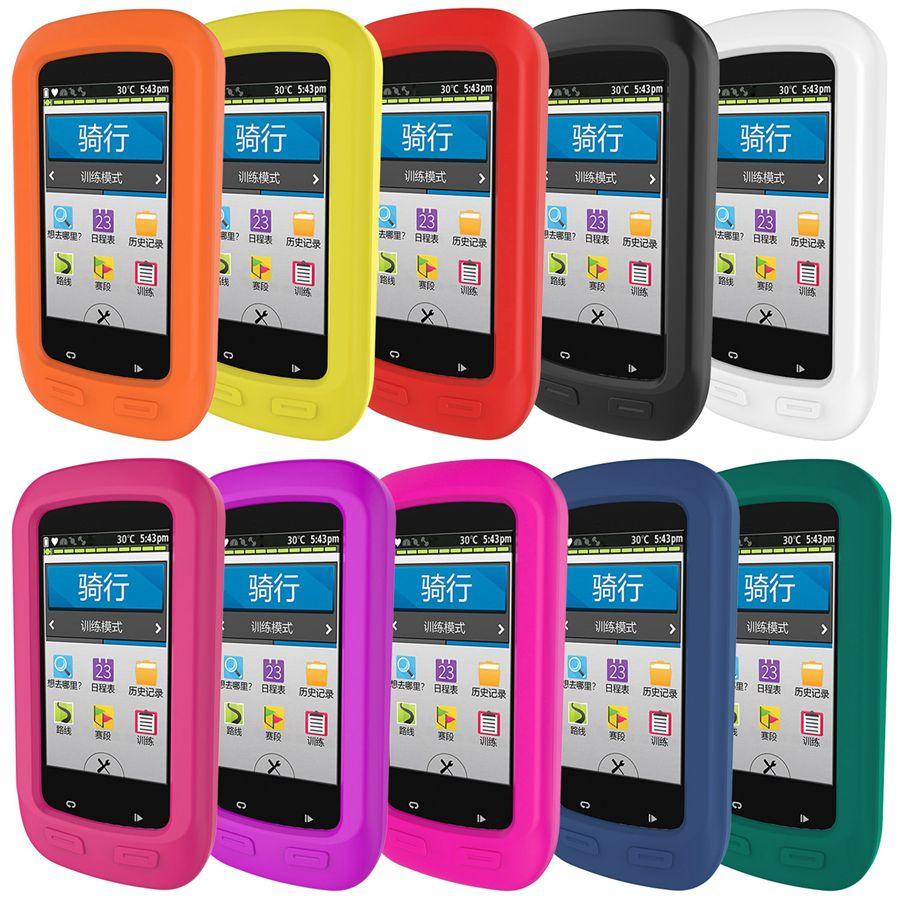 Housse de protection pour Garmin Edge 1000 GPS vélo Ordinateur de peau de silicone couverture Shell 10 couleurs
