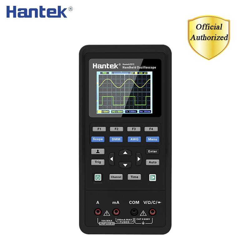 مثبتات الذبذبات Hantek رقمي متعدد + مولد الموجي + الذبذبات المحمولة المحمولة 3in1 USB 2 قناة 40 ميجا هرتز 70 ميجا هرتز اختبار كيت