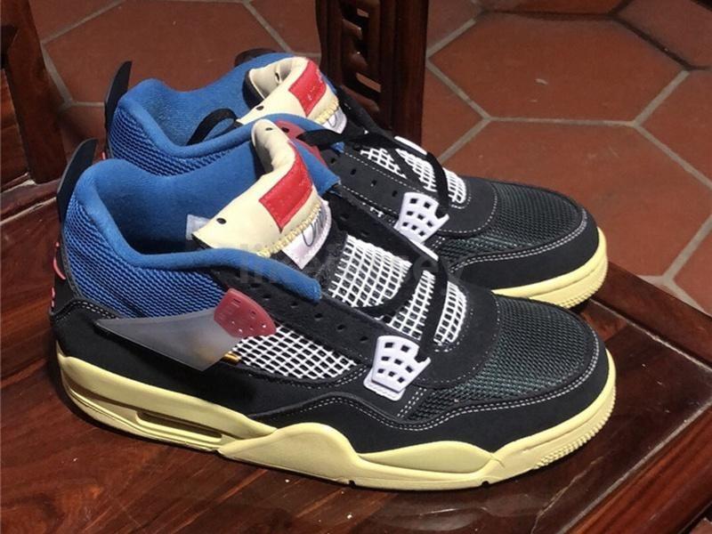 2020 Оптовая Новый союз 4 Mens ботинки баскетбола 4s Mens LA Кроссовки Спортивные кроссовки Размер 7-12