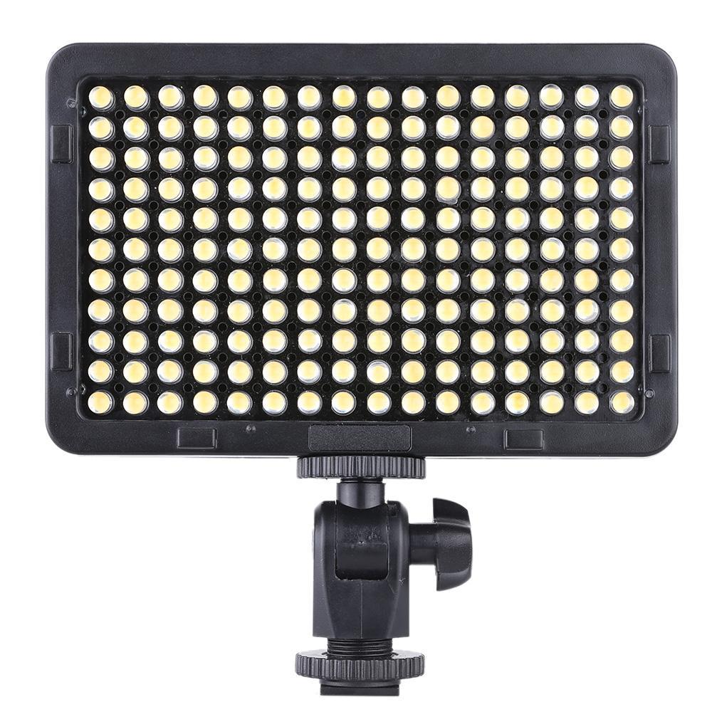 Pannello lampada chiara portatile Video Studio Fotografia 176 LED 5600K per il cannone Nikon Pentax Olympus DSLR Videocamera