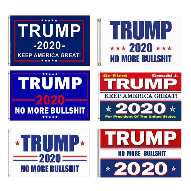 Декор Баннер Trump Флаг Америки снова для президента США Дональда Трампа Выборы Баннер Флаг Флаги Donald 7 Styles DHC46