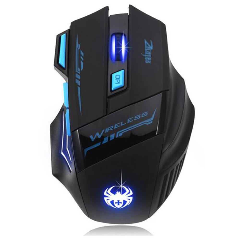 cgjxs 2018 neu justierbare 2400dpi Led optische drahtlose Maus Gamer Mäuse Computer-Maus-Spiel-Maus für Laptop