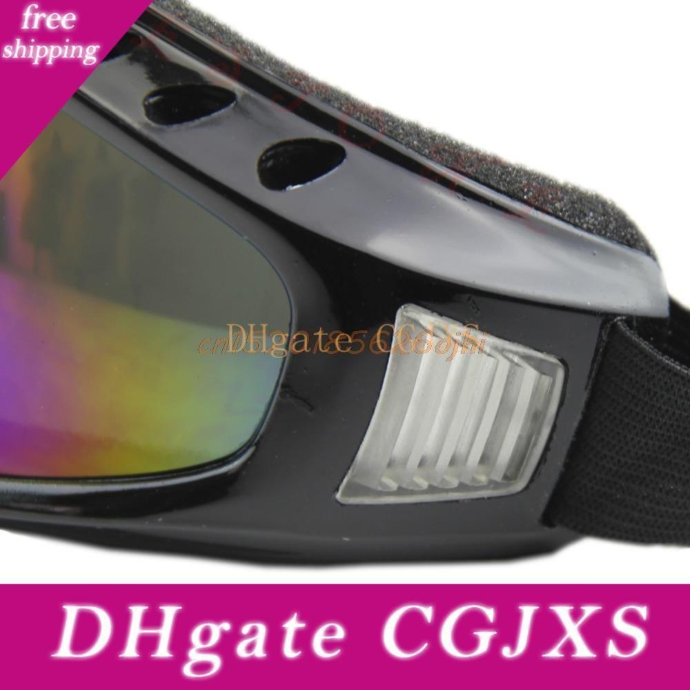 Открытый Анти песочные мотоциклов Ветер очки от пыли Защита с губкой # H030 #