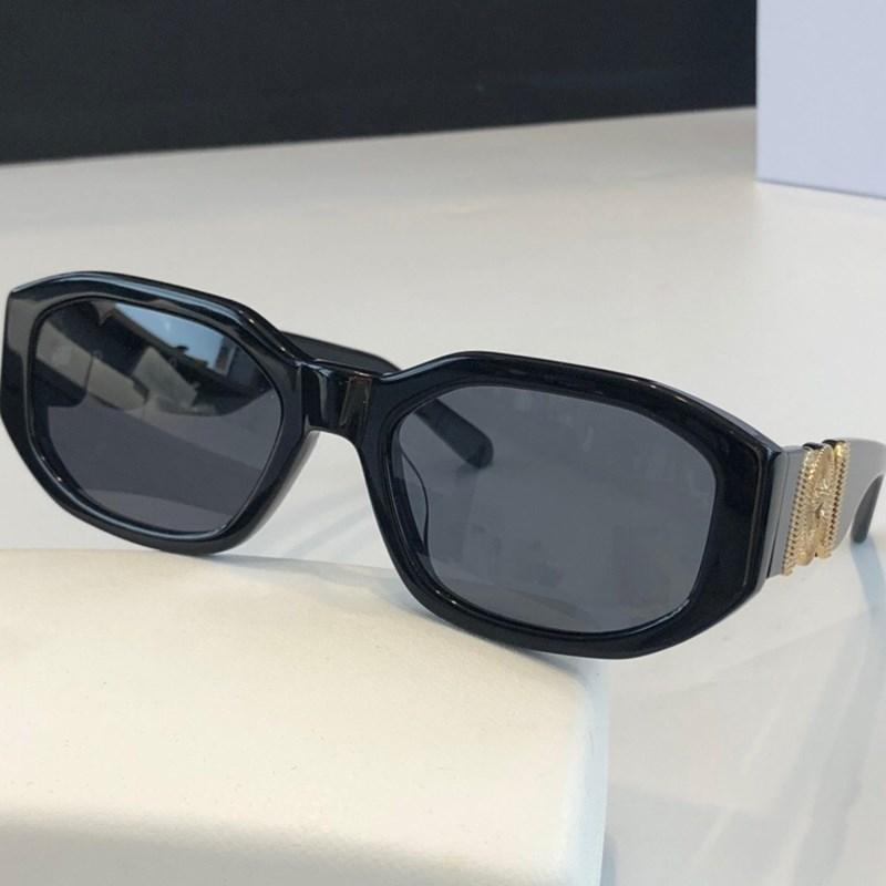 نظارات شمسية للرجال والنساء الصيف نمط مكافحة الأشعة فوق البنفسجية ريترو درع عدسة لوحة كاملة الإطار الأزياء النظارات عشوائية مربع 4361