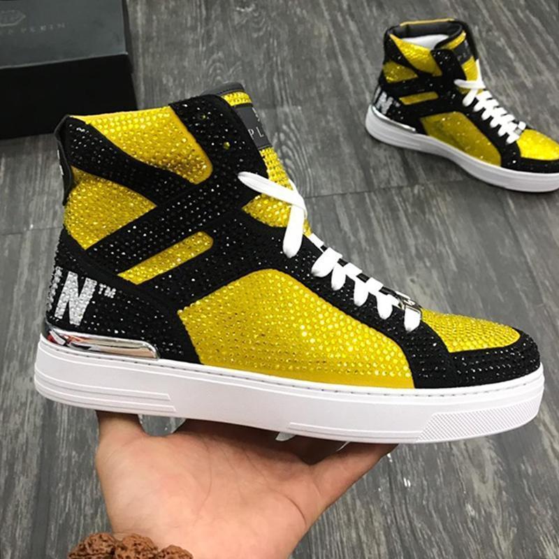 Shaspet Nefes Erkekler Ayakkabı Sneakers Casual 2020 Moda Tenis Eğitmenler Rahat Chaussures Hommes Para Beast Merhaba -Top Erkekler Ayakkabı Bo dökün