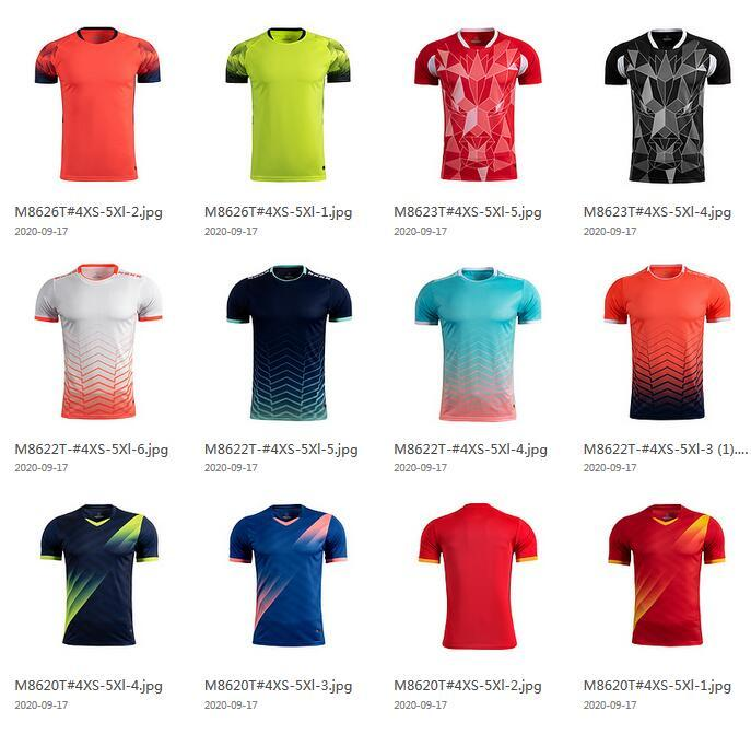 Creat Your Owe Soccer Tranning Top Soccer wears Thai Quality Customized Soccer Jerseys Shirts Mix Order Accepted Custom Team Trainer Shirts